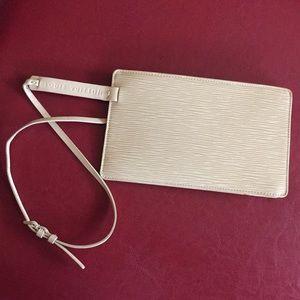 Yellow Epi Louis Vuitton Belt Bag